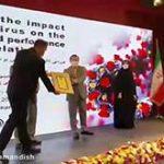 اهدای نشان ویژه خلاقیت به سیدحسین قوامی
